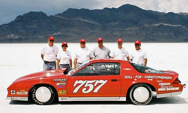 Doll-Fox-Christophersen Land Speed Racing Team Bonneville Salt Flats, 1990 to 2004